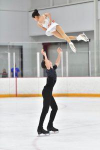 Bryan Pierro et Emy Carignan